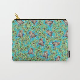 Kookaburra & Eucalypt Carry-All Pouch