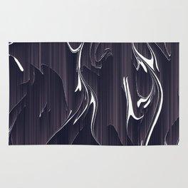 glitch art Rug