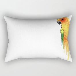 Sun Parakeet Rectangular Pillow
