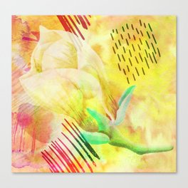 yellow flower xc Canvas Print