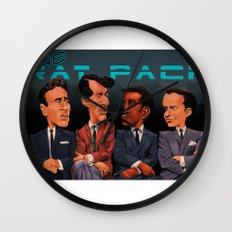 The Rat Pack Wall Clock