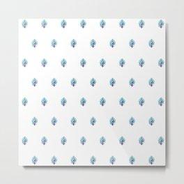 Peacock Pattern_C01 Metal Print