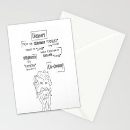 Unkempt Stationery Cards