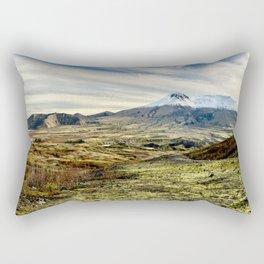 Mt St Helens Panorama Rectangular Pillow