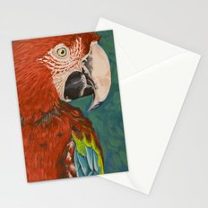 Green-winged Macaw Stationery Cards