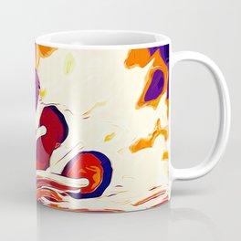 colorful anemonefish clownfish vector art late sunset Coffee Mug