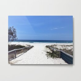 Keira Beach Metal Print