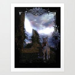 Zemija's Oracle Art Print