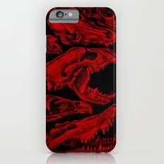 Carnivores in Red iPhone 6s Slim Case