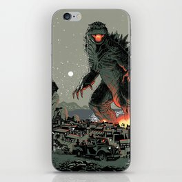 Godzilla - Gray Edition iPhone Skin