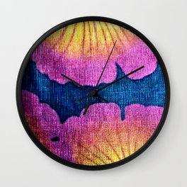 Ginkgo Leaves  #Society6 #buy art  #decor Wall Clock