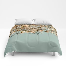 Falling Into Spring Comforters