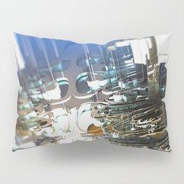 Clock Temple of technology Pillow Sham