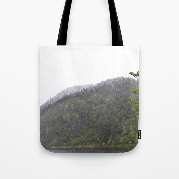 Season's First Snow Tote Bag