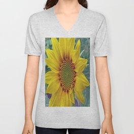 Little Sunflower Unisex V-Neck