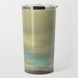 Clouds at Ben Nevis Range Travel Mug