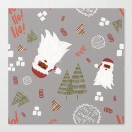 Hey Santa! Canvas Print