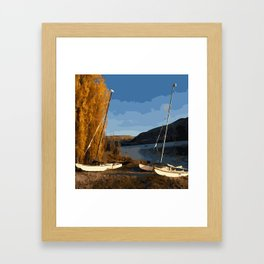 Lake Wanaka NZ Framed Art Print