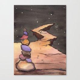 Mystical, Magical Path to Anywhere Canvas Print