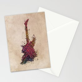 Bass guitar Stationery Cards