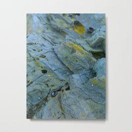 Back Rock Metal Print