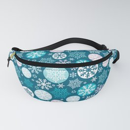 Magical snowflakes IV Fanny Pack