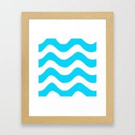 wwaavveess Framed Art Print