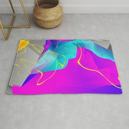It's Imagination. Breaking Through. Rising Strong Rug