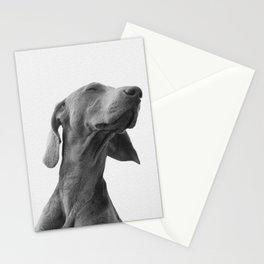 Dreaming dog Poster Stationery Cards