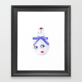 Pretty Face Parfum Framed Art Print
