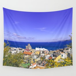 The Pearl Of The Mediterranean Sea Wall Tapestry