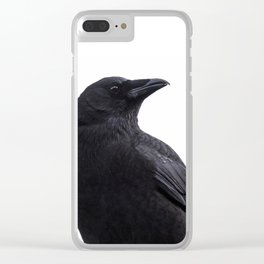 Seattle Crow / 1 Clear iPhone Case