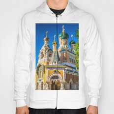 Russian Orthodox Cathedral, Nice France Hoody
