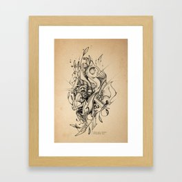 DinamInk #01 Framed Art Print
