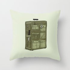 LOST Luggage / John Throw Pillow