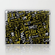 Animal Type Block Laptop & iPad Skin