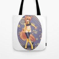 kiki Tote Bags featuring Kiki by HaruShadows