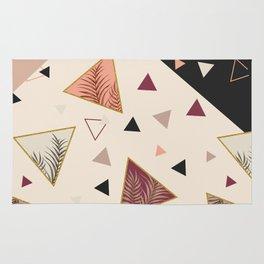 Triangles&Palms #society6 #decor #buyart Rug