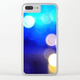 Moment of Jazzy Clear iPhone Case