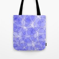 bubbles Tote Bags featuring Bubbles by Warwick Wonder Works