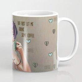 Drinking coffee  Coffee Mug