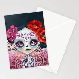 Amelia Calavera - Sugar Skull Stationery Cards