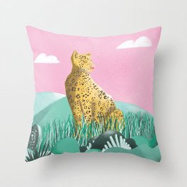 Nobody can beat the Mama Africa! Throw Pillow