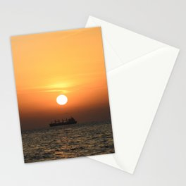 Heart in Sunset 1 Stationery Cards