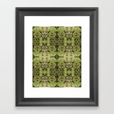 Forest fairy floral,nature, woodland, hippie, mandala, psychedelic Framed Art Print