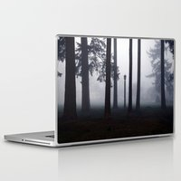 narnia Laptop & iPad Skins featuring Misty Park by Lyssia Merrifield