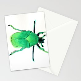 Juni, the june bug. Stationery Cards