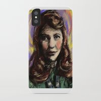 sylvia plath iPhone & iPod Cases featuring St. Sylvia Plath by Buttons McTavish