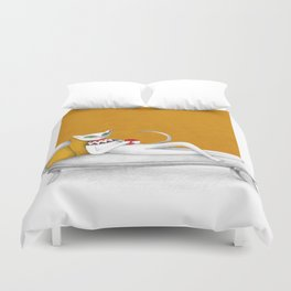 starting with a coffeebreak Duvet Cover