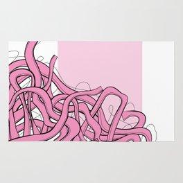 Pink Noodles Rug